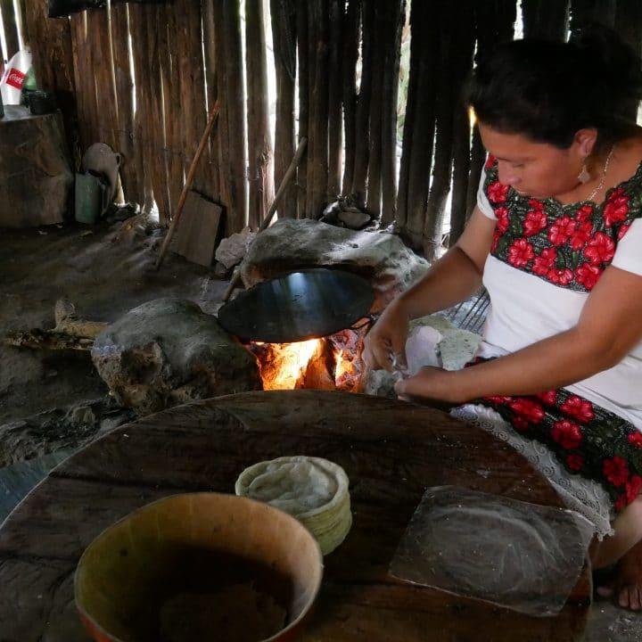 cérémonie maya, communauté maya, temazcal, maya, riviera maya